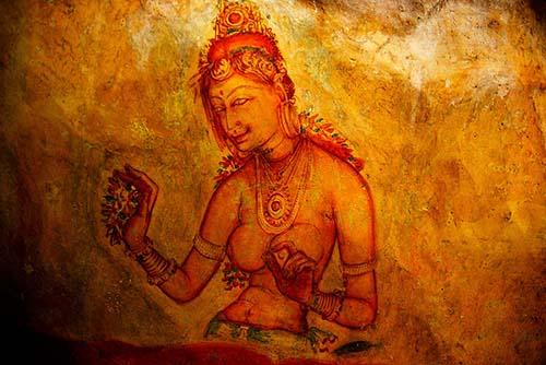 Frescoes-Sigiriya-Siyathra