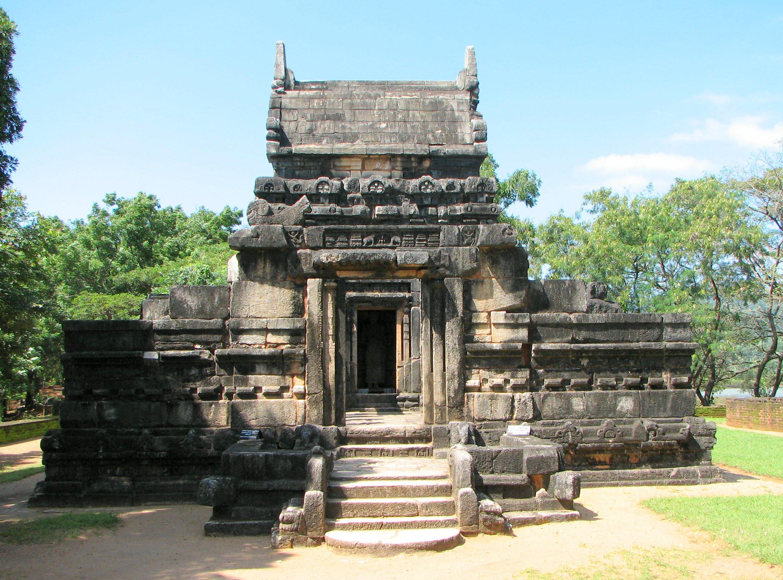 Nalanda Gedige Temple